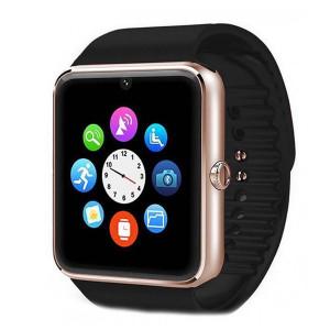"""Умен часовник с телефон IMK, Модел  2016, Камера  2.00 Mpx, Повикване  BT, LCD капацитивен екран 1.54"""" със защита срещу надраскване, слот за SIM карта, черен цвят SW018"""