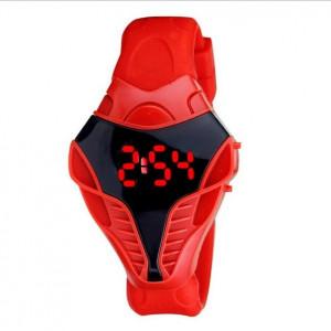 Часовник унисекс L045-червен