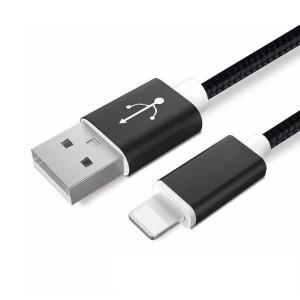 Apple Ligtning - cablu date incarcator 2m Negru iPhone
