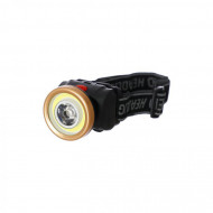 Lanterna frontala LED 1W, Reglare 90 grade, pe baterii 3xAAA, AS0507