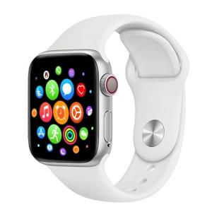 Smartwatch T500, сърдечен мониторинг, кръвно налягане, Bluetooth 4.2, Бял, T500-БЯЛ