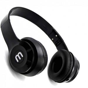 Универсални сгъваеми стерео слушалки за мобилни устройства и MP3 - Черен цвят