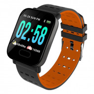 A6 Orange - Smart Watch Sport Fitness Tracker