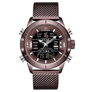 Ceas Barbatesc Dual-Time Multifunctional Naviforce NF9153-V3