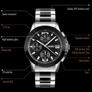 Skmei SK9126-V1 Спортен часовник, хронограф