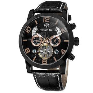 Автоматичен часовник Forsining с Tourbillon For1073