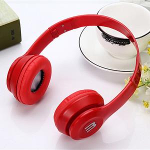 Универсални стерео слушалки - Червени