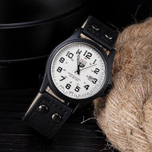 Ceas de mana barbatesc quartz Q151