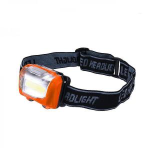 Lanterna frontala LED COB - 3W, 110 Lumeni, Reglare 75 grade, pe baterii 3xAAA, NF-T835