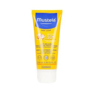 Loțiune cu protecție solară pentru față și corp, Mustela SPF 50+