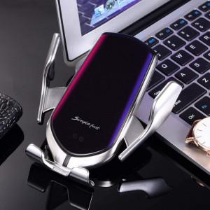 Suport auto cu incarcare rapida wireless, USB - Smart Sensor R; PM-0036