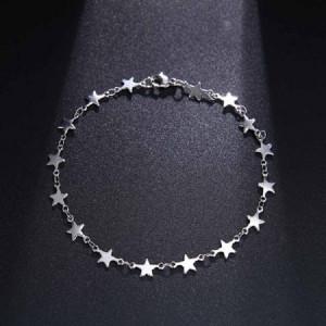 Дамска гривна, stars - сребриста BR320-V1