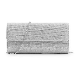 Дамска чанта, Bergenia, Сребриста L217-V1
