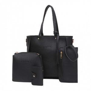 Комплет 4 части дамска чанта L201