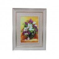 Tablou Canvas - Vaza cu Flori