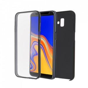 Калъф Samsung Galaxy S9 PLUS - 360 Fully поликарбонатов гръб и силиконо фолио - черен