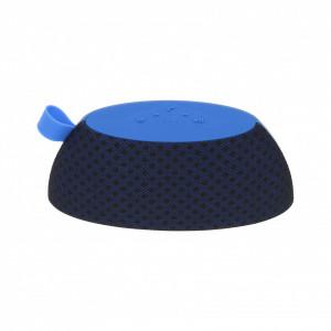 Преносима тонколона с FM радио, Bluetooth, MP3 / TF карта, Aux, USB - син цвят