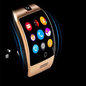 Умен часовник Vogue Q18 Curved Nfc Камера и телефон 3G - SW011-ЗЛАТИСТ