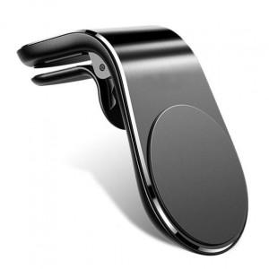 Универсална магнитна стойка за кола за телефони - Vent Black
