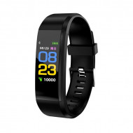 Smart Wristband 115 Plus Fitness Tracker - Black