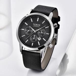 Мъжки часовник NORTH Черен