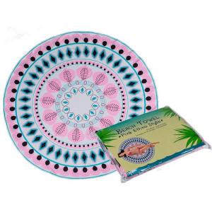 Плажна кърпа Pink Ethno, 150 см, PM75983