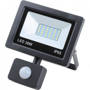 20 W градинска лампа със светодиод и сензор за движение
