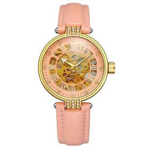 Автоматичен дамски часовник Skeleton Forsining FOR9052-V3