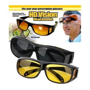Дневни и нощни очила за шофиране HD Vision, комплект от 2 броя