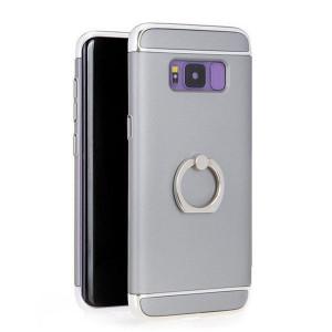 Сив клаъф с пръстен  Slim Blast за Samsung Galaxy S7 EDGE
