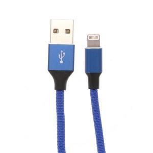 Apple Ligtning - Cablu De Date Si Incarcare Albastru 1m