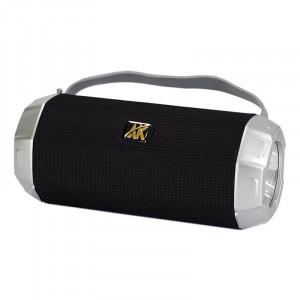 Boxă portabilă cu lanternă, Radio FM, Neagra, AK-318