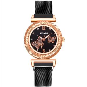 Ceas de Dama, cu inchidere magnetica, Butterfly, Q9603-V1