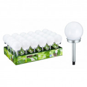 Lampa solara LED pentru gradina 25 cm - 1 buc