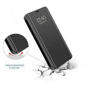 Samsung Galaxy S10 - Калъф Book Cover Clear View – черен цвят