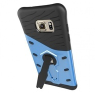 Samsung Galaxy S7 Edge - Син калъф  Tough Armor Rubber