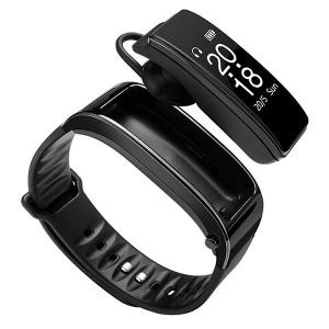 Y3-V2 - Умна гривна Smart и слушалки с микрофон Handsfree Bluetooth
