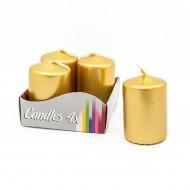 Комплект от 4 цилиндрични свещи LM005