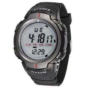 Мъжки часовник Спорт Waterproof  Synoke Syn1001