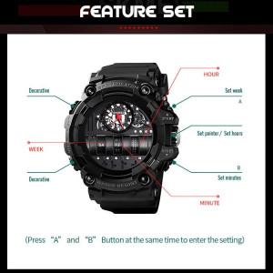 Спортен часовник SockResist, Skmei SK1557-V2, Син