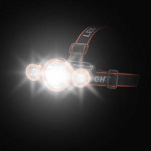 5Wx3 LED челник - с акумулатор