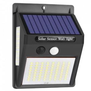 Aplica LED de perete, incarcare solara, senzor de miscare LED/2,2W - ALL44
