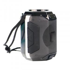 BS-162 Bluetooth стерео говорител, преносим, FM радио, USB, TF карта, околна светлина