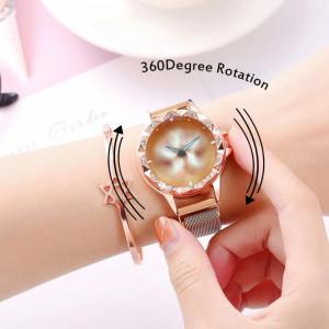 Ceas Dama Fashion, 360 Rotation, Q9508-V1