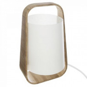 Lampa bambus,abajur plastic ,alb , PM157705A3