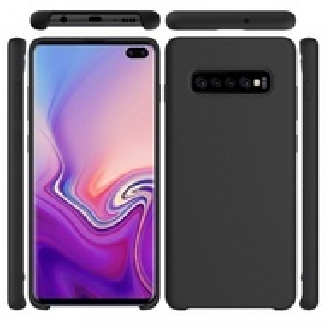 Samsung Galaxy S10 PLUS - Силиконов калъф -  матов черен