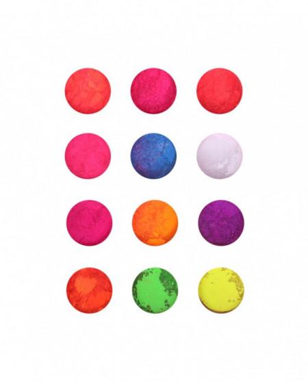 Pigment pentru unghii set 12 culori APIG12