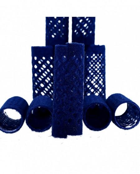 Bigudiuri metalice cu textura catifea 21x65 mm 12 buc