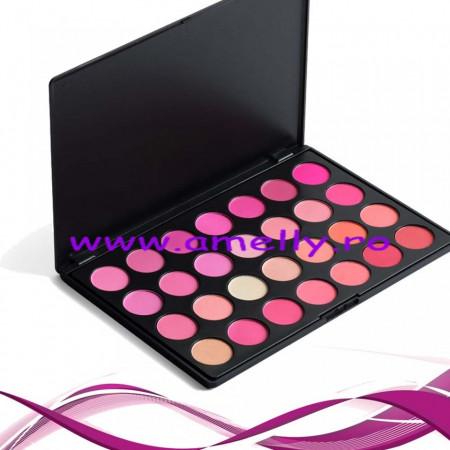 Paleta blush 28 nuante
