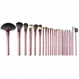 Poze Set 24 pensule make up profesionale Megaga